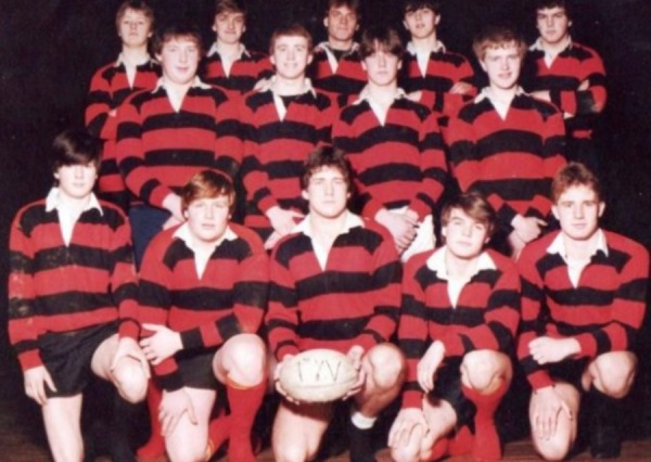 Colonel Frank Seely Rugby team 1982