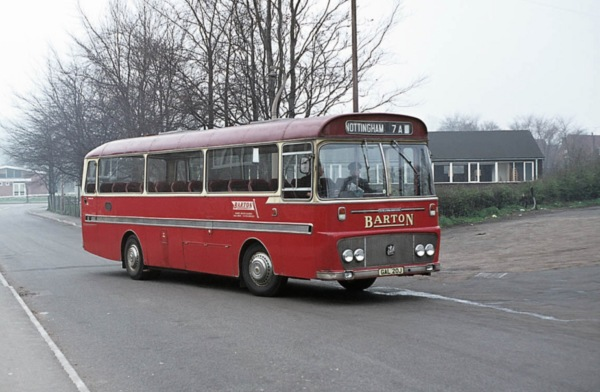 Old style Barton's Bus!