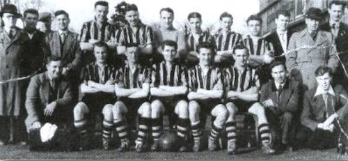 1953 colliery football team