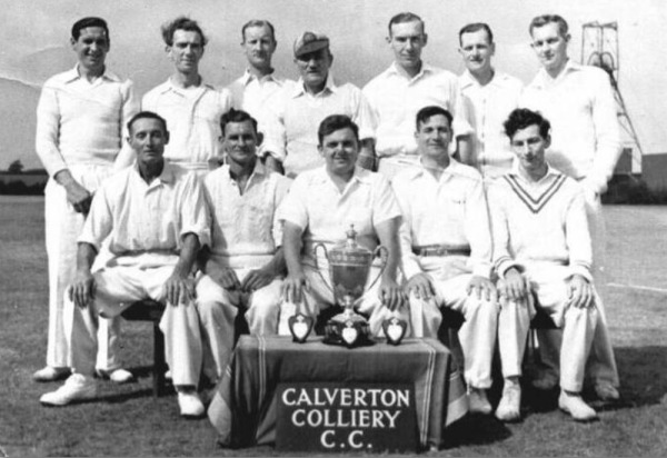 Early 1960s colliery cricket team