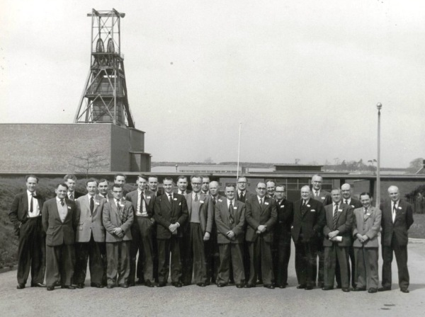April 13th 1961 - Colliery visit of the area Headmasters