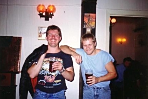Andy Beardsmore and Dave Etches.
